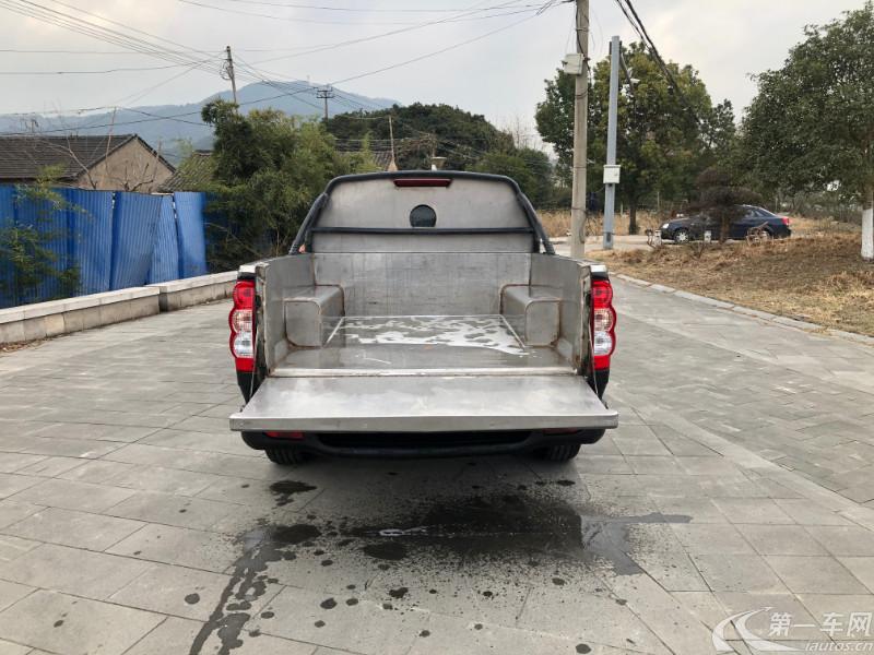 长城风骏 2017款 2.0T 手动 柴油 欧洲版进取型大双排 (国Ⅴ)