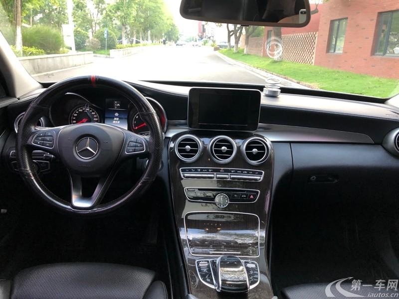 奔驰C级 C180L 2016款 1.6T 自动 (国Ⅴ)