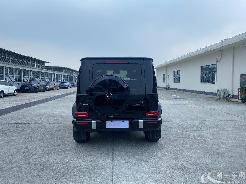 奔驰[进口] 2021款 4.0T 自动 G63